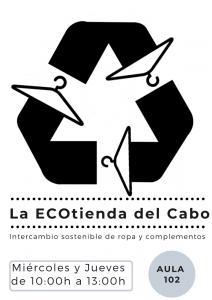 LA ECOTIENDA DEL CABO.Intercambio sostenible de ropa y complementos