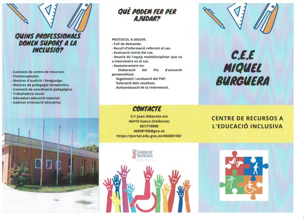 Tríptic Centre Recursos