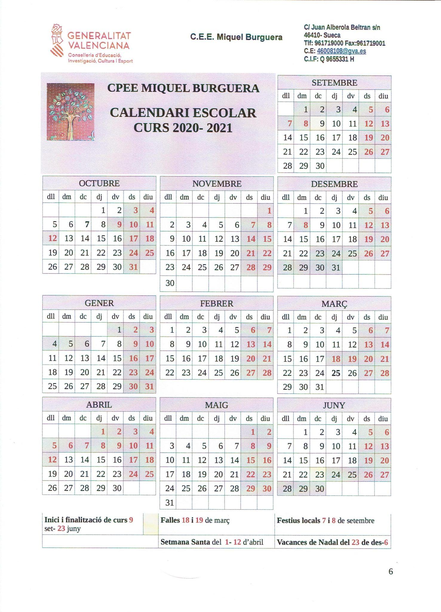 Calendari 20-21