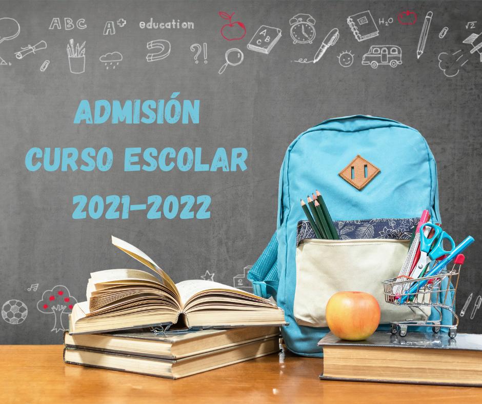 Calendario Admisión Curso Escolar 21-22 – IES LA VEREDA