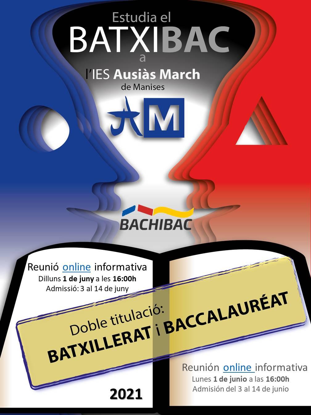 BATXIBAC Cartell reunió informativa_2021