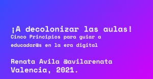 Presentación Ponencia Renata Avila