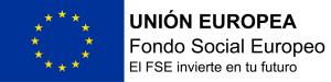 Logotipo FSE. Horizontal bandera izquierda (png)