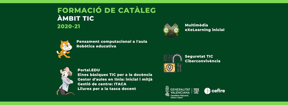 Formació Catàleg TIC 20-21