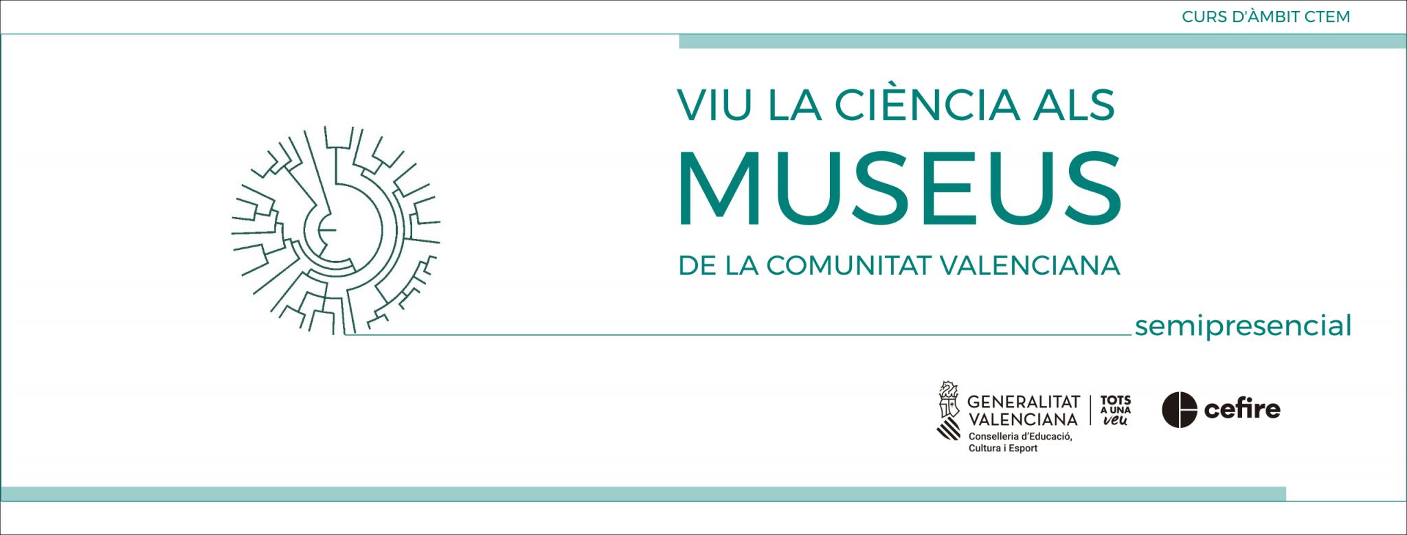 banner VIU LA CIÈNCIA ALS MUSEUS DE LA CV