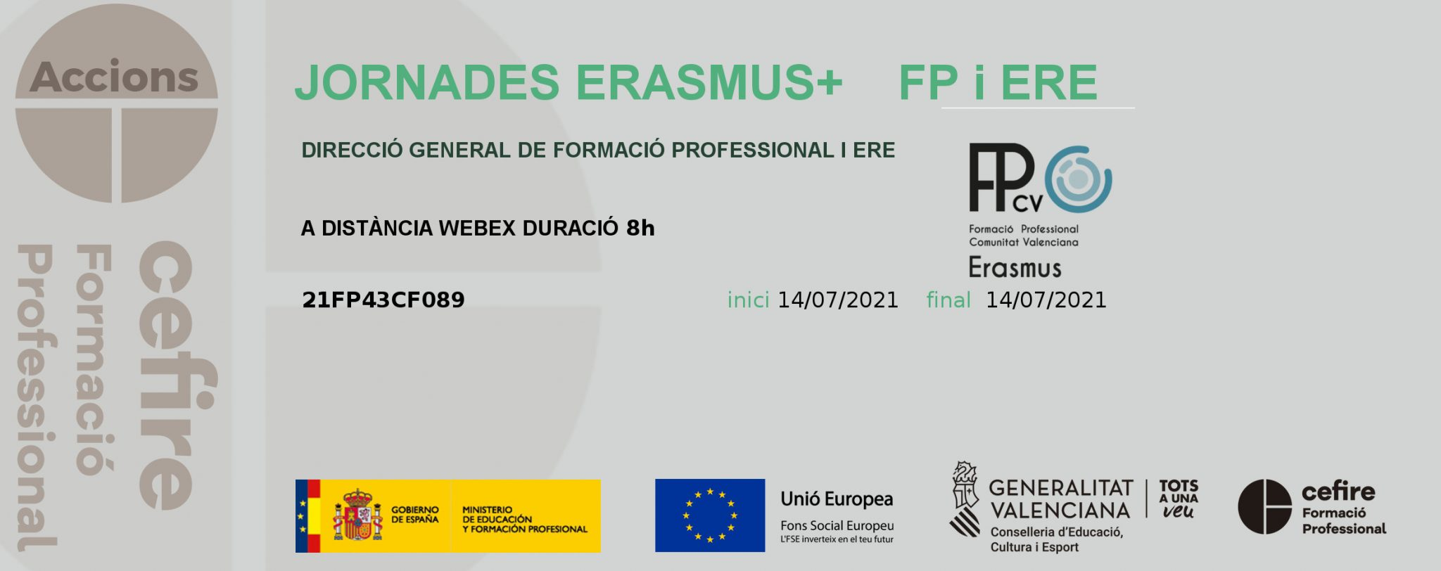 JORNADAS ERASMUS val