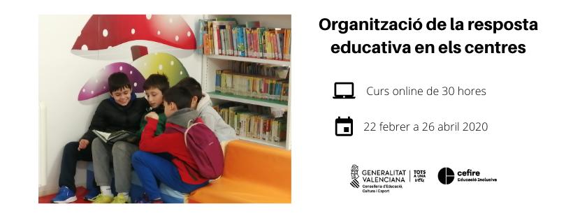 Organizació de la resposta educativa en els centres