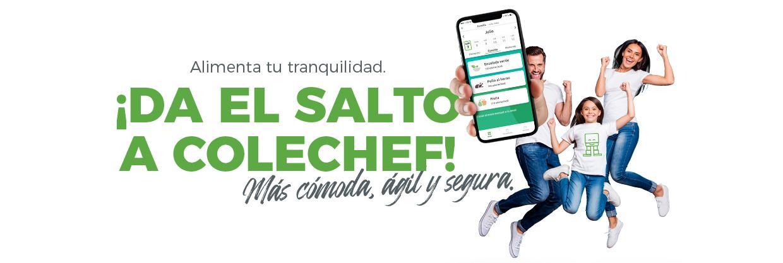 nueva App ColeChef de Serunión