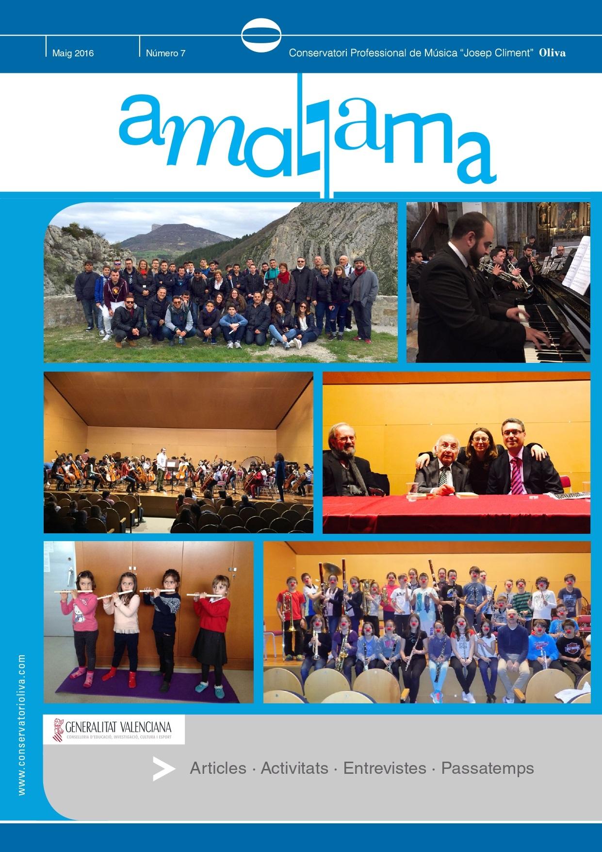2016 Revista Amalgama 7