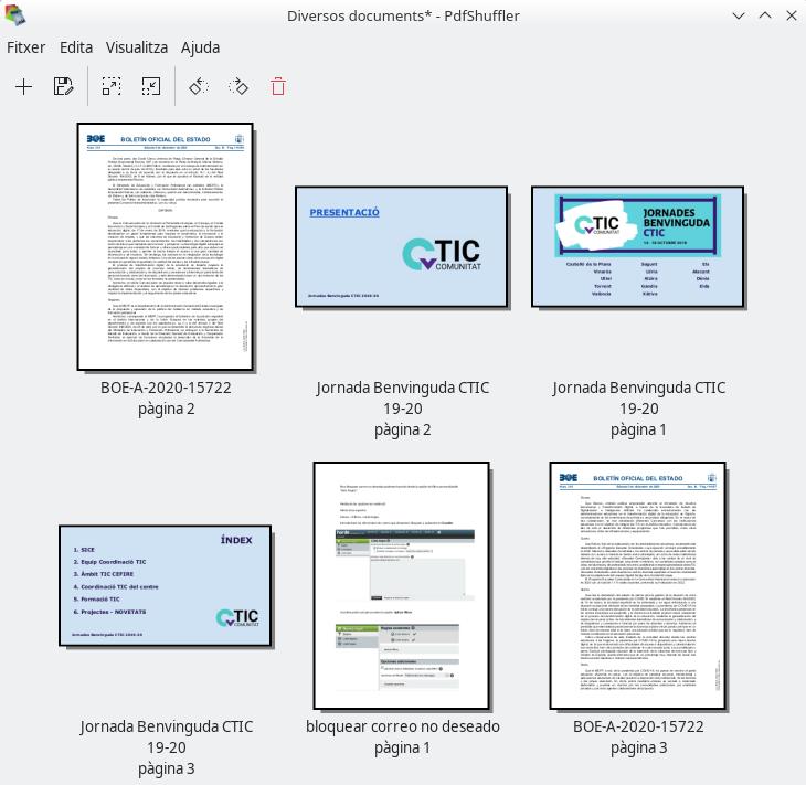 PDFShuffler. Exemple
