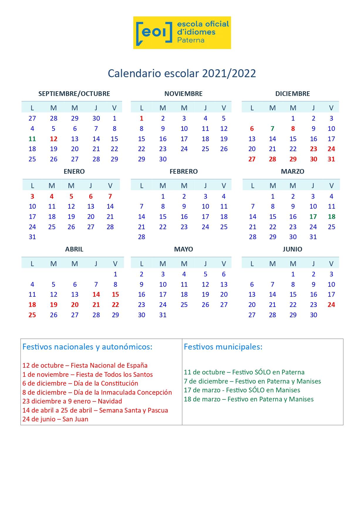 Calendario escolar 21.22_page-0001