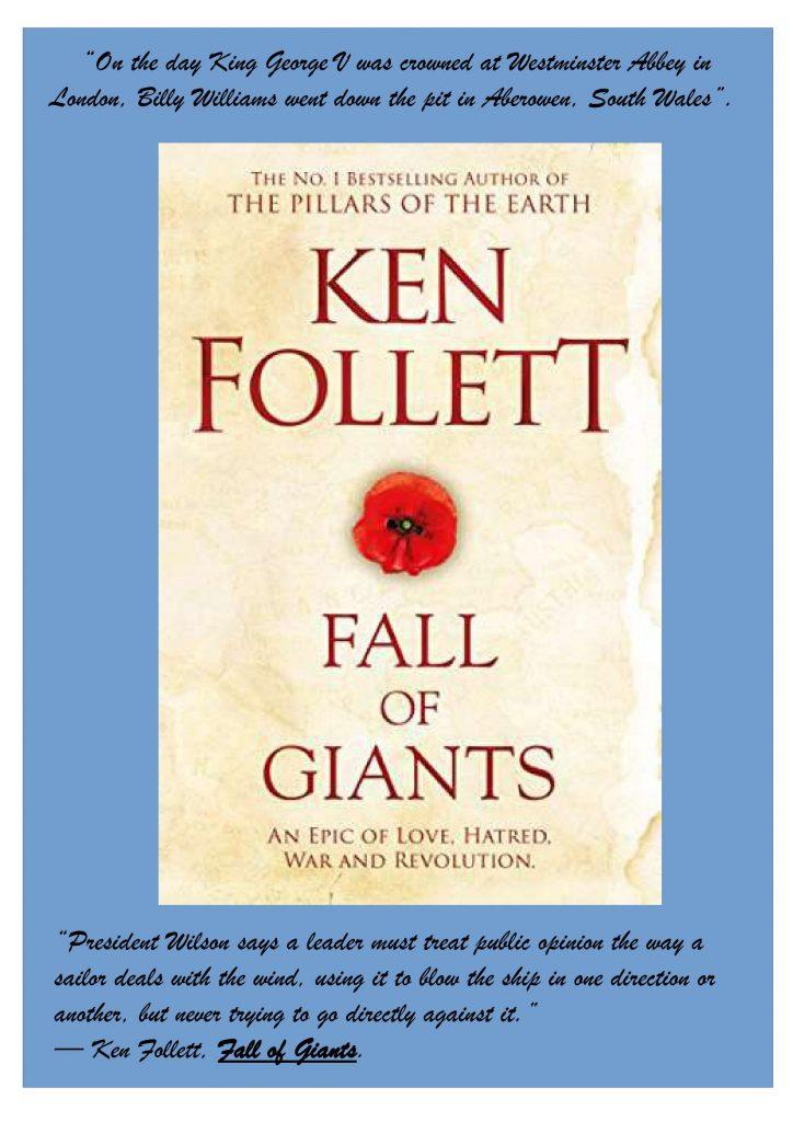 Fall of Giants. Ken Follet