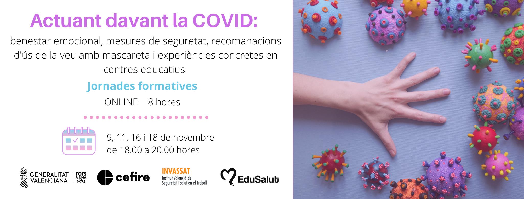Banner Jornades COVID novembre