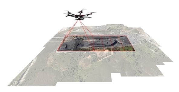 dron planimetria