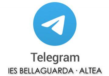 logo telegram IES Bellaguarda