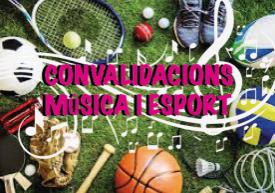 musica i esport convalidacions
