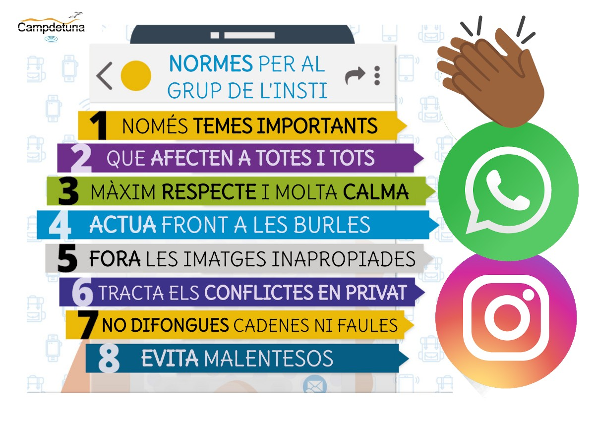 Normes grups de classe Whatsapp