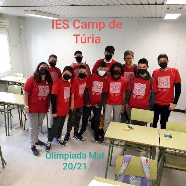 Alumnat Olimpíada Matemàtica XXXI