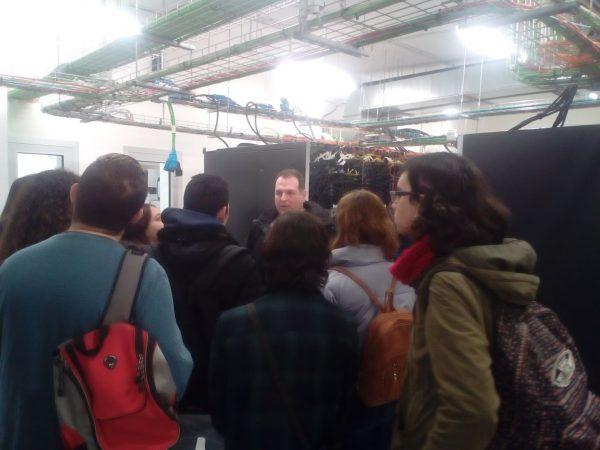Visita al supercomputador Tirant lo Blanc
