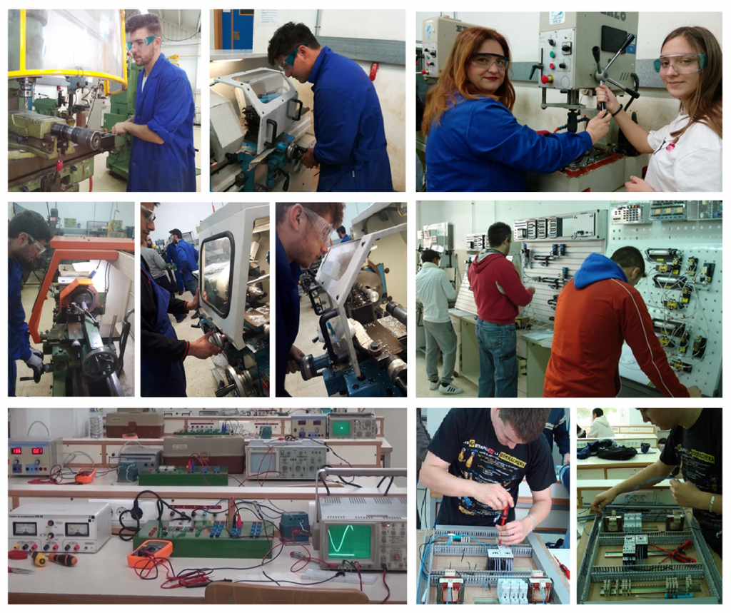 Imágenes del ciclo de Mantenimiento Electromecánico