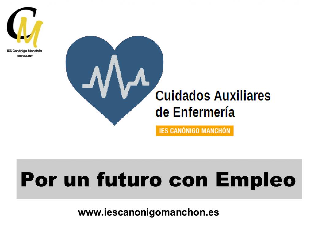 Por un futuro con Empleo - Cuidados Auxiliares de Enfermería