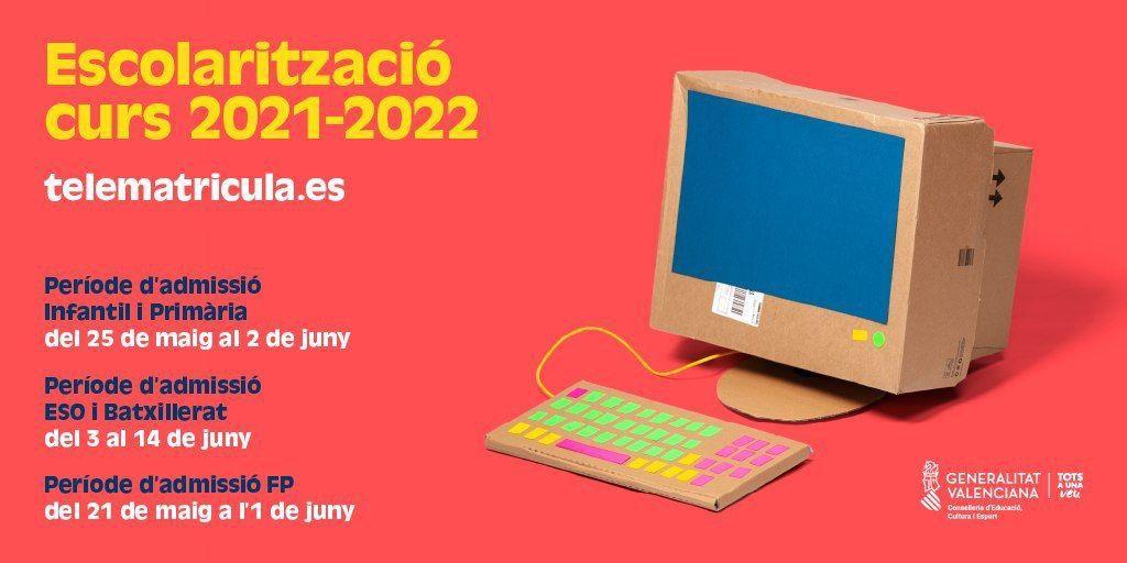 Telematrícula 2021-22
