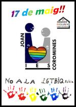 Cartell dia contra LGTBIfòbia 2021