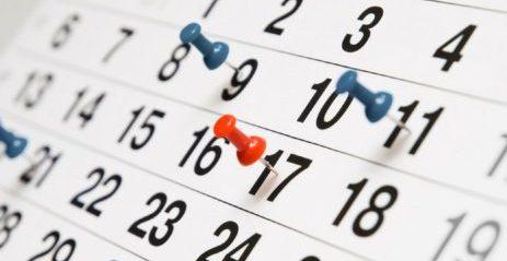 Dates d'exàmens
