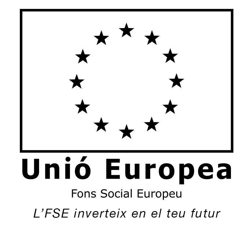 Logotipus del fons social europeu