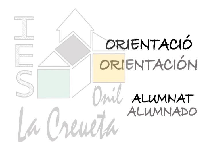 ORIENTACIÓ ALUMNAT