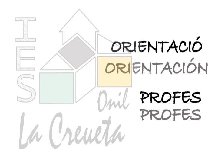 ORIENTACIÓ PROFESSORAT