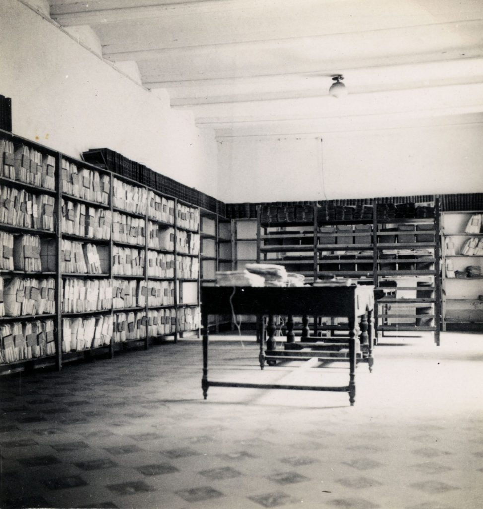 Archivo expedientes 1941