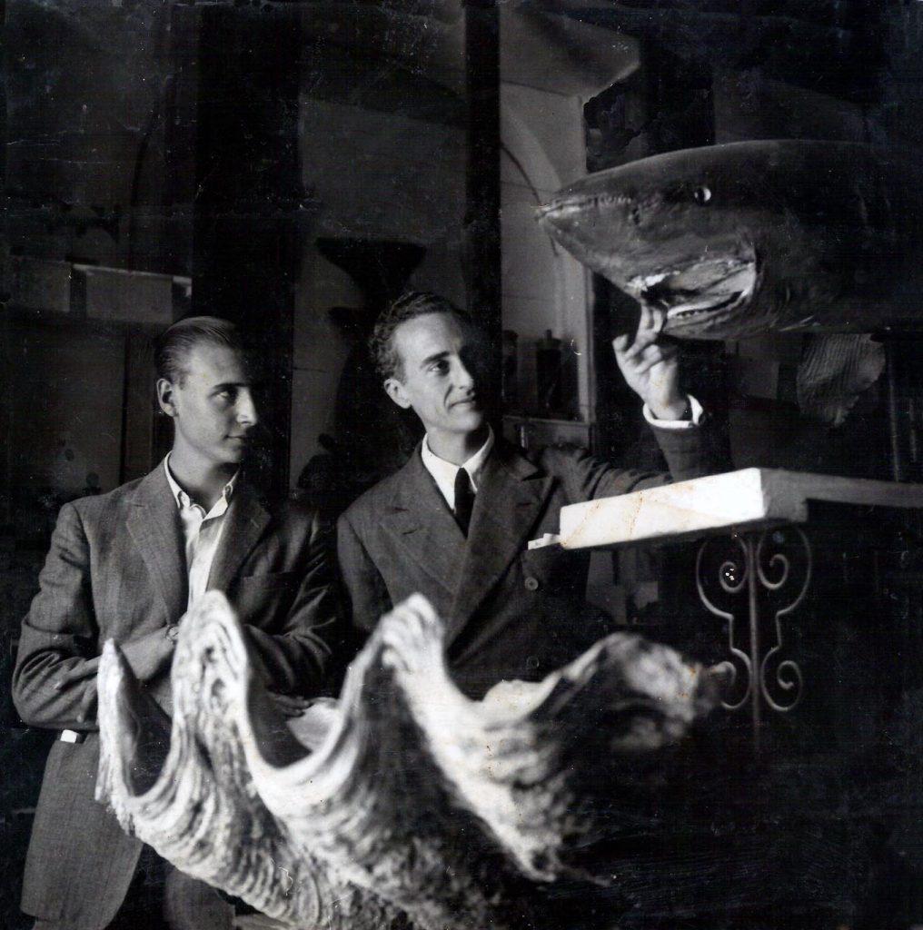 En el Museo de Ciencias Naturales 1941