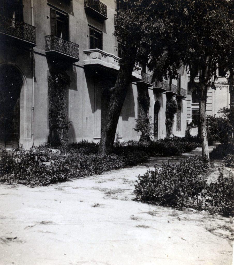 Fachada Marqués de Sotelo 1941
