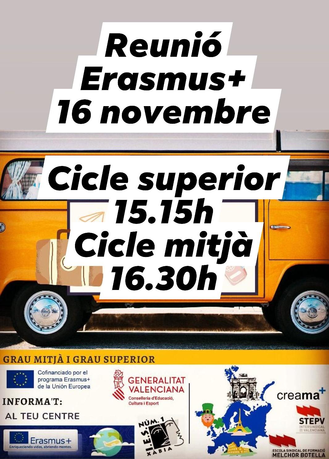 Reunió Erasmus