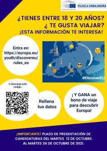 poster discover EU