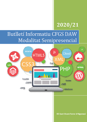 Butlletí Informatiu DAW Semipresencial