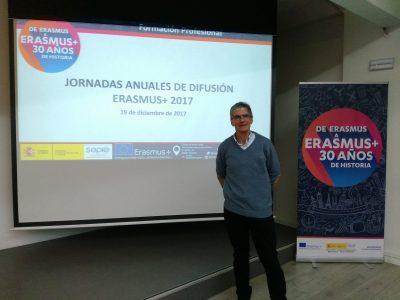 Jornada de Difusió Erasmus+ a Madrid, 19 de desembre de 2017