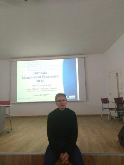 Jornada de Llançament Erasmus+ a València, 9 de gener de 2018