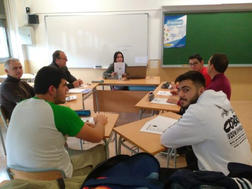 Comencem la preparació de la mobilitat Erasmus+ a Montelimar (França). Classes de francés per a professorat i alumnat 11/11/2018