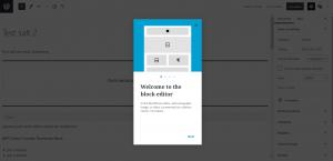 Gutenberg benvingut a l'editor de blocs
