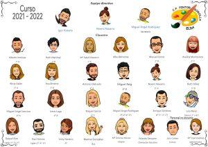 Claustro Virtual Bitmojis 2021 - 2022